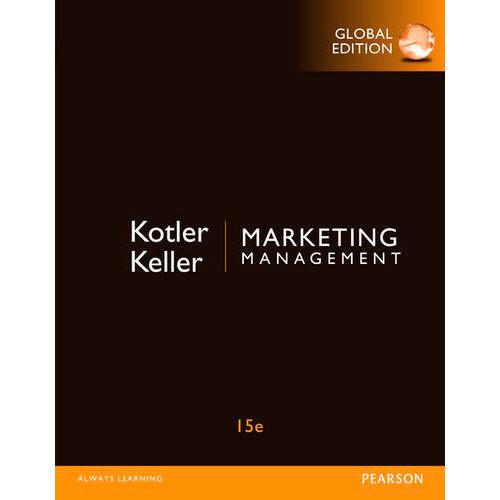 Marketing Management (15th Edition) Kotler IE