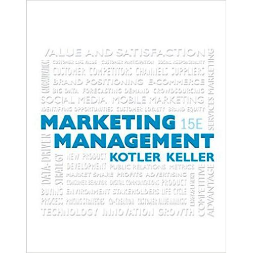 Marketing Management  15th Edition  Kotler
