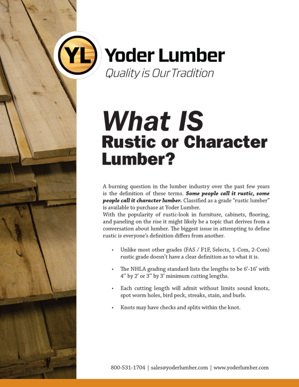 Rustic Lumber Whitepaper