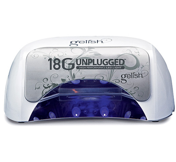 Gelish 18G Unplugged Professional Portable High Performance LED Cure Light Lamp