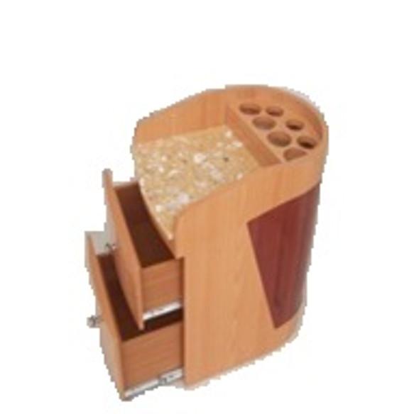 Round Pedi Cart