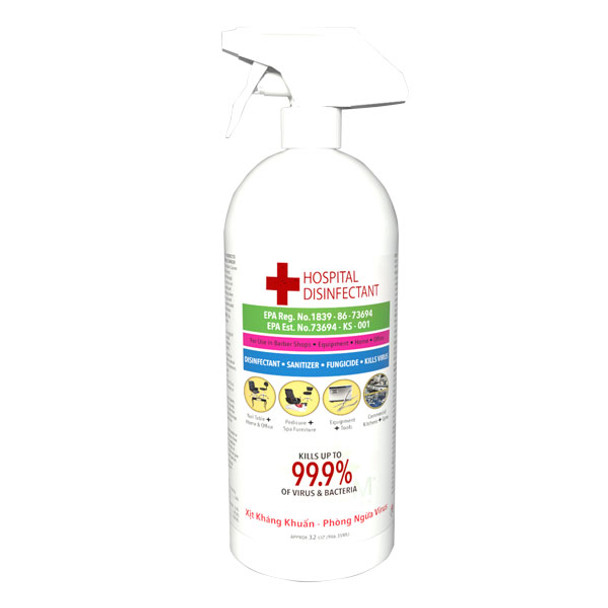 Lapalm Hospital Disinfectant 32 oz