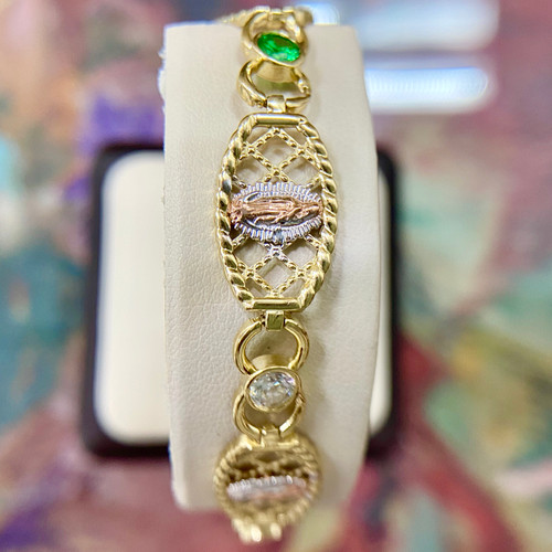 Lady Of Guadalupe Bracelet 2.94tcw