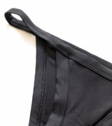 The Black Mika bottoms are a Brazilian cut inspired bottoms with a low waist profile.