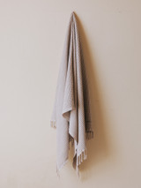 Waffle Beach Towel - Vintage Beige