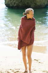 Adoro Beach Towel - Grape