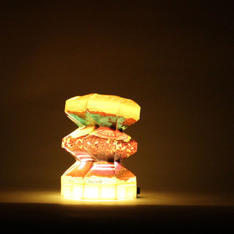 This is the first creation of food lamps and is successful at turning into wonder lamps.