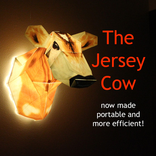 The Jersey Cow Lamp: the first step to building larger animal lamps!