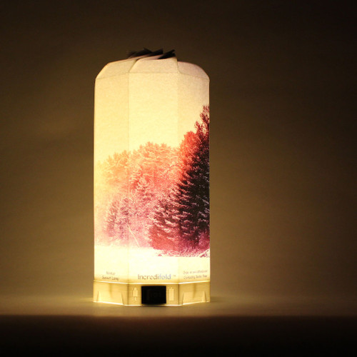 Adding this scene to our lamps just makes it more vibrant and the sun more appealing. It's almost as if the sun were inside the lamp, leaking out and gleaming into your room.