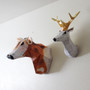 This Cow has been scaled up with a much larger base in comparison to the Guardian Stag Deer Lamp.