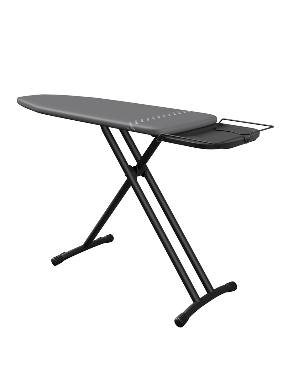 Plus Ironing Board with Dark Grey Cover open