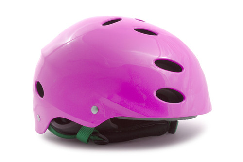 Pink Bike Helmet