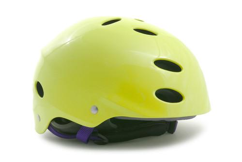 Yellow Bike Helmet