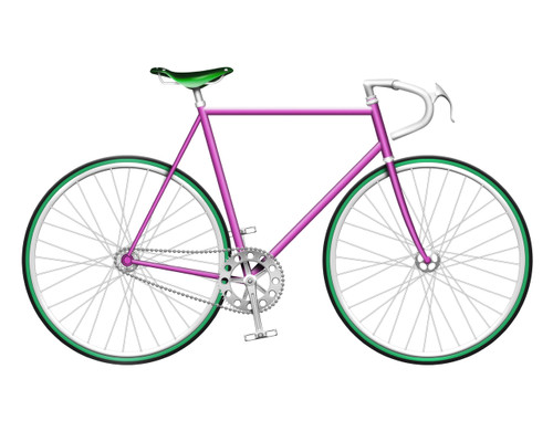 Pink Single Speed Bike