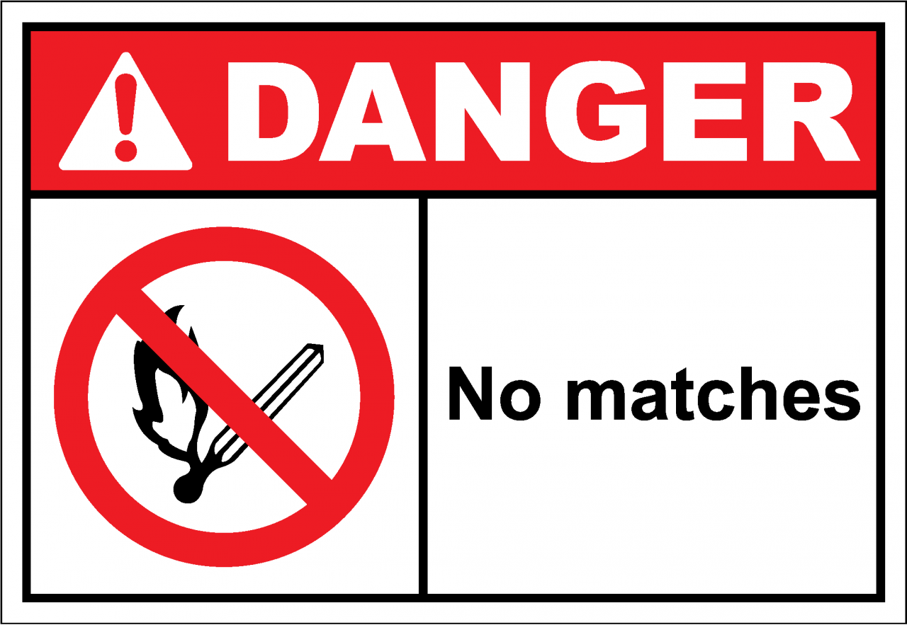 Danger Sign no matches