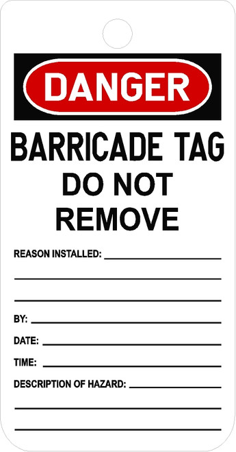 Barricade Tag_Notify Contact Person