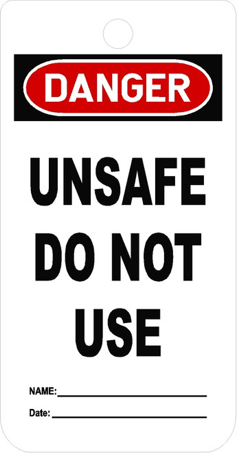 Unsafe To Use Tag