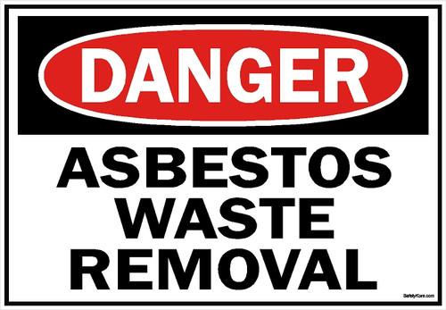 Asbestos1007-Asbestos-Waste-Removal-Sign