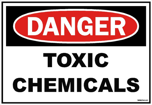 Toxic Chemical Sign