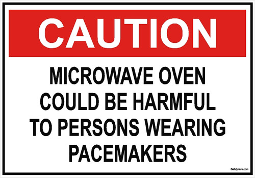 Pacemaker Caution Sign