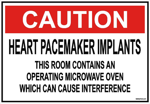 Heart Pacemaker Implant Sign