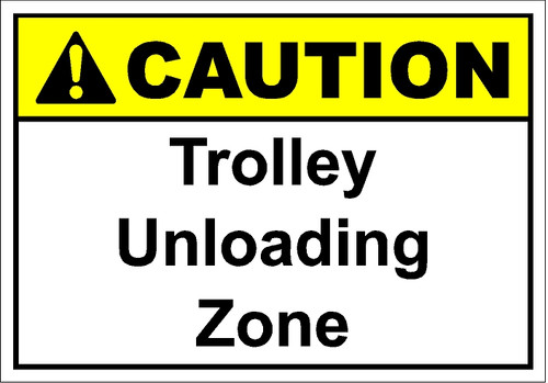 Trolley Unloading Zone