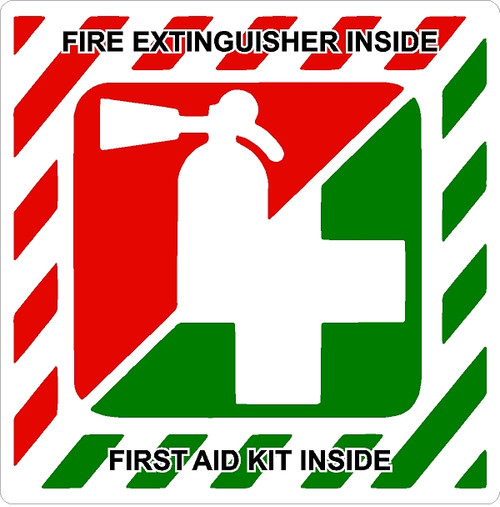 """3M adhesive outdoor decal. 3""""x3"""" in size."""