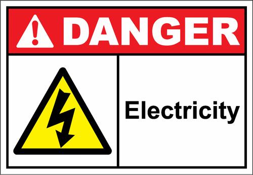 Danger Sign electricity