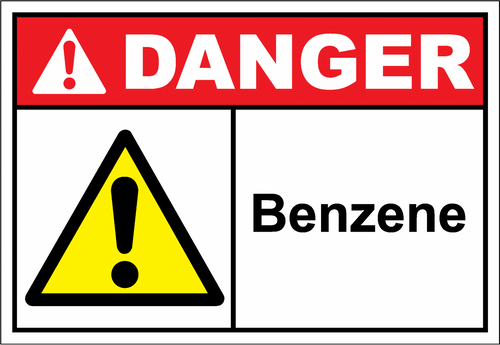 Danger Sign benzene
