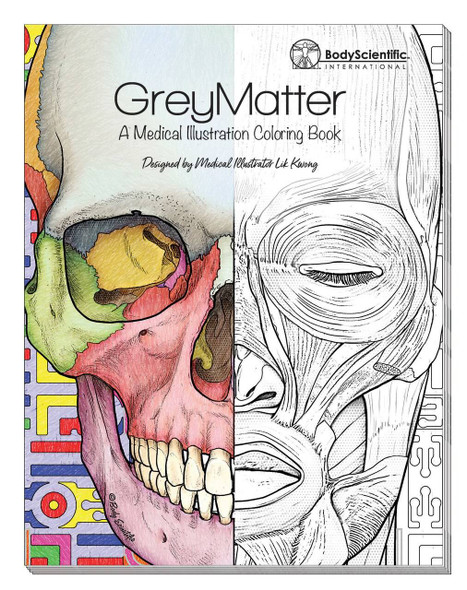 Grey Matter Anatomy Coloring Book