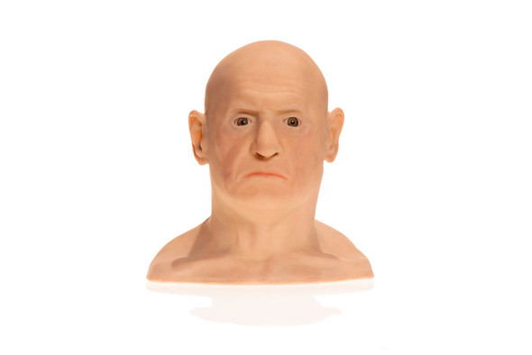 SimSkin Head Training Model - IL Duomo Head - Front View of the Head and Neck