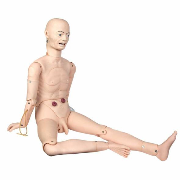 Anatomy Lab Advanced Full-body Geriatric Nursing Manikin Male