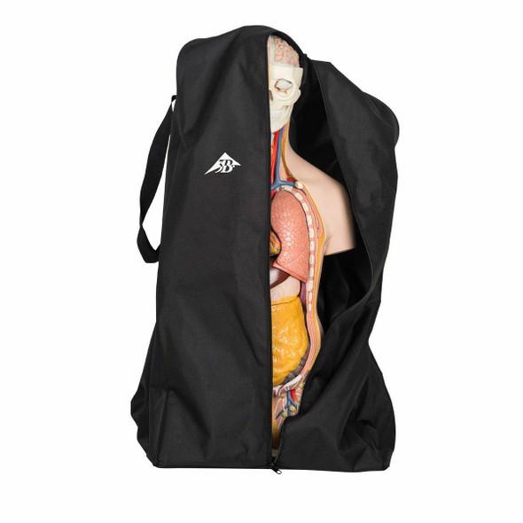 Full-Size Torso Model Protective Cover Black 1