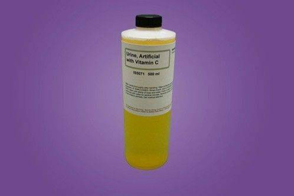 Artificial Urine for Educational Simulation with Vitamin C 500Ml