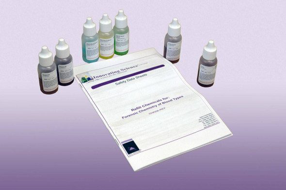 Forensic Chemistry Of Blood Typing Refill Kit