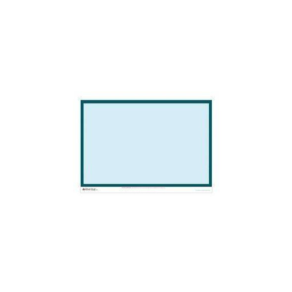 Whiteboard Dry-Erase Sticky Wall Chart - Blue