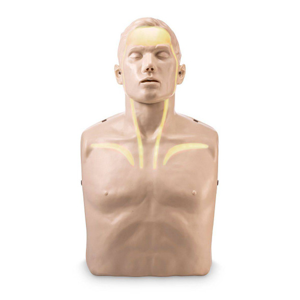 Brayden CPR Training Manikin - White Indicator Lights
