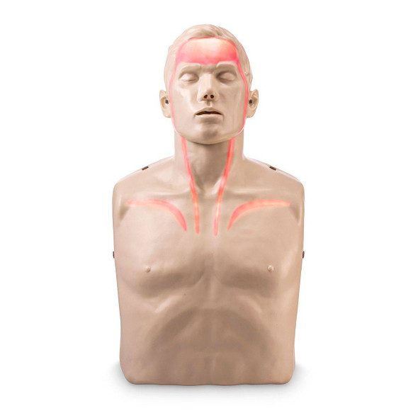 Brayden CPR Training Manikin - Red Indicator Lights