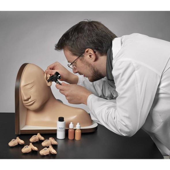 Life/form Ear Examination Simulator and Basic Nursing Set