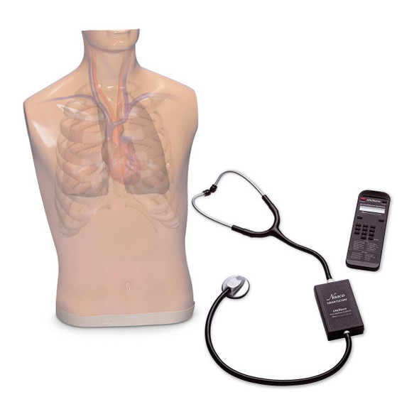 Life/form Auscultation Trainer and Smartscope and Amplifier/Speaker System