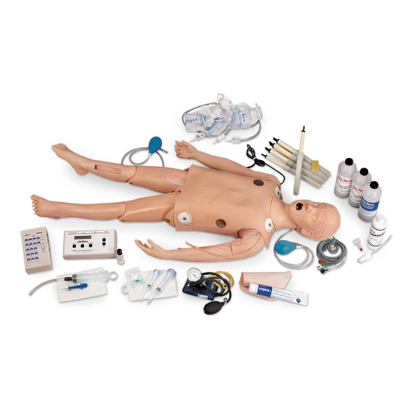 Life/form Deluxe Child CRiSis Manikin with ECG Simulator