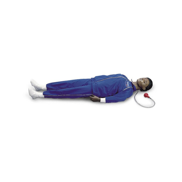 Life/form CPARLENE Full-Size Manikin with CPR Metrix and iPad - Dark