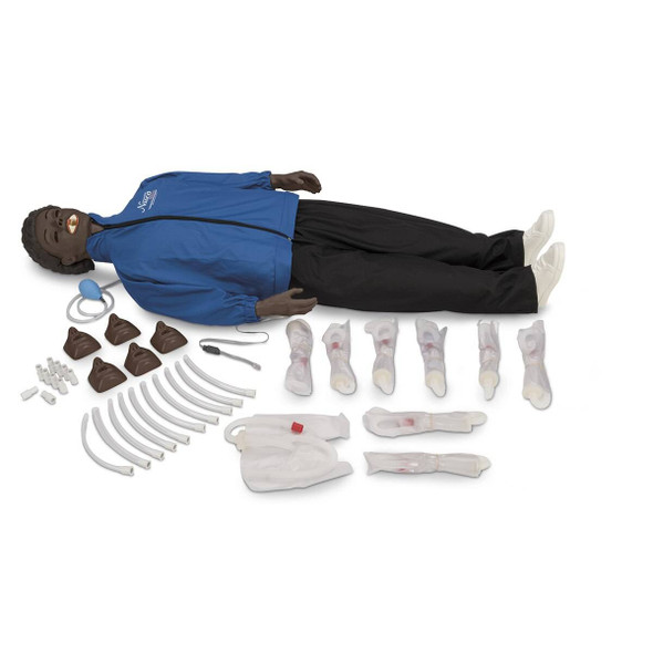 Life/form Electronic Monitoring with CPARLENE - Full-Size Manikin with Electronics - Dark