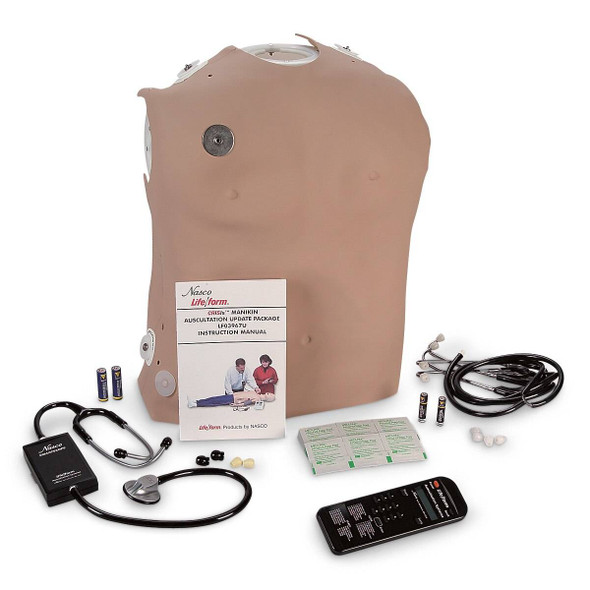 Life/form CRiSis Manikin Auscultation Kit