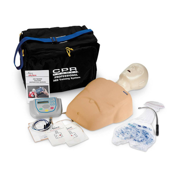 CPR Prompt Complete AED Training System - Tan