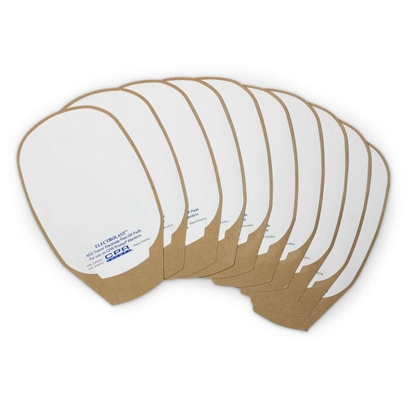 ElectroLast AED Trainer Foam Electrode Peel-Off Pads - Medtronic Physio-Control Style