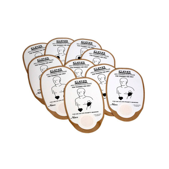 Detachable Electrode Pads for Medtronic/Physio Foam Manikins