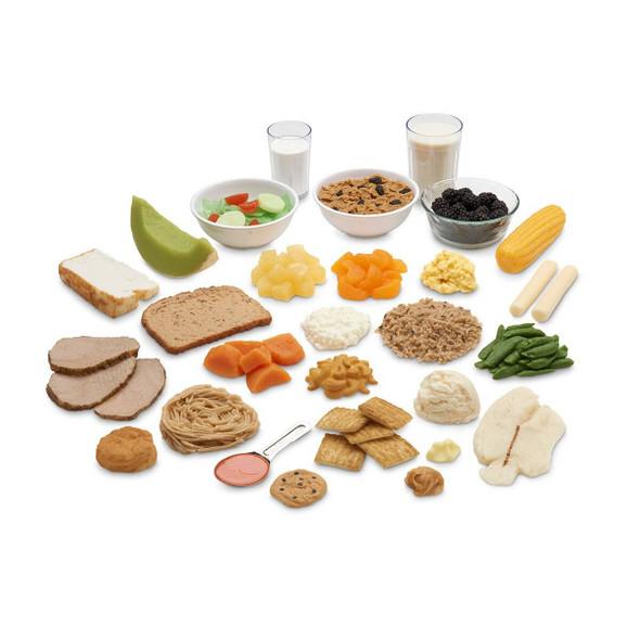 Nasco Common Meals Food Replica Kit