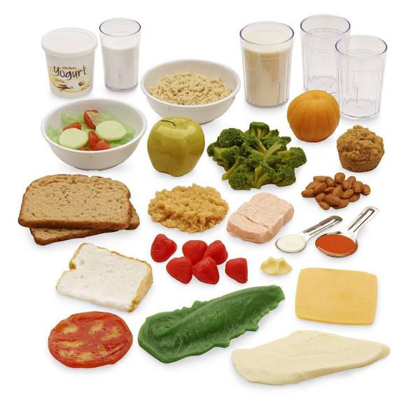 Nasco A Days Intake Food Replica Kit