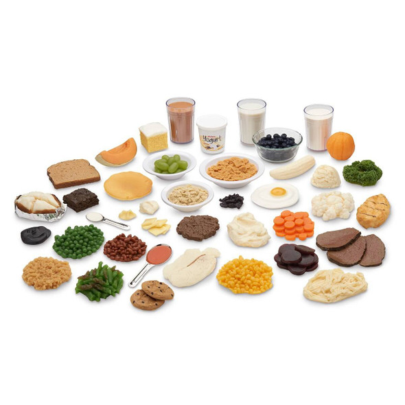 Nasco Carb Counting Food Replica Kit and TearPad